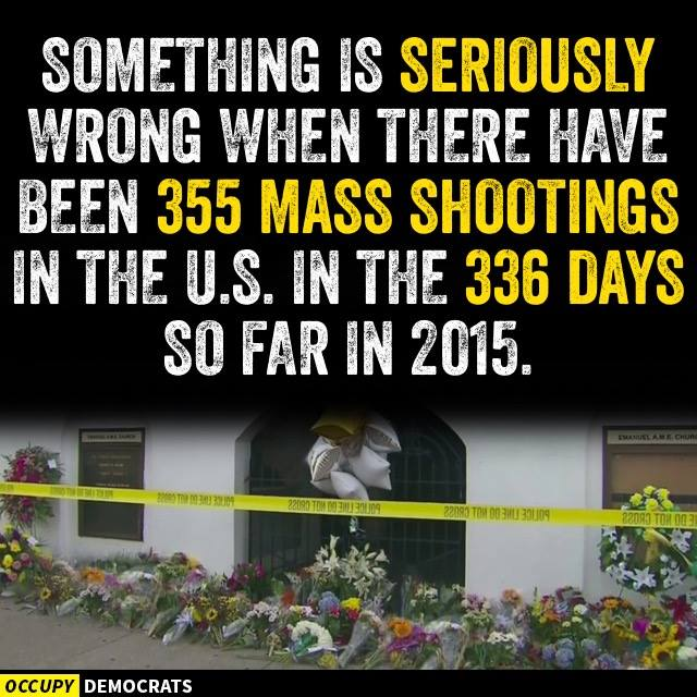 355 Mass Shootings This Year?